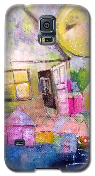 Galaxy S5 Case featuring the painting The Open Door by Eleatta Diver