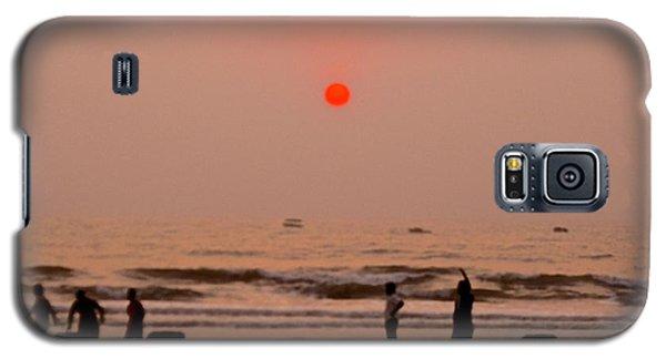 The Orange Moon Galaxy S5 Case