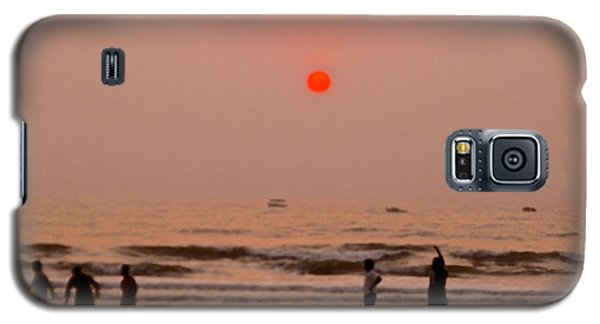 The Orange Moon Galaxy S5 Case