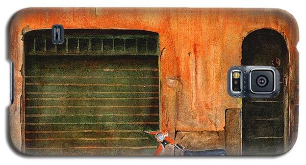 The Orange Vespa Galaxy S5 Case