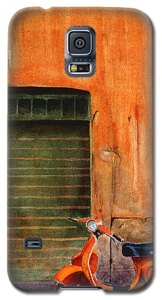 The Orange Vespa Galaxy S5 Case