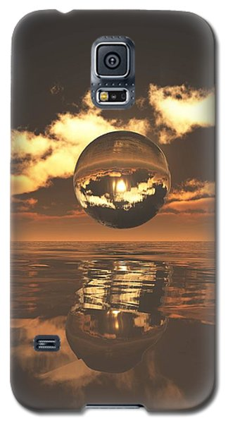 The Orb Galaxy S5 Case