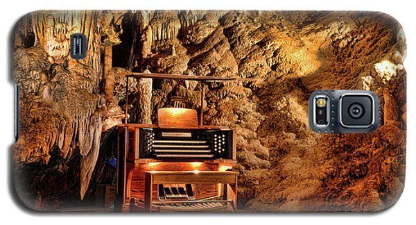 Galaxy S5 Case featuring the photograph The Organ In Luray Caverns by Paul Ward