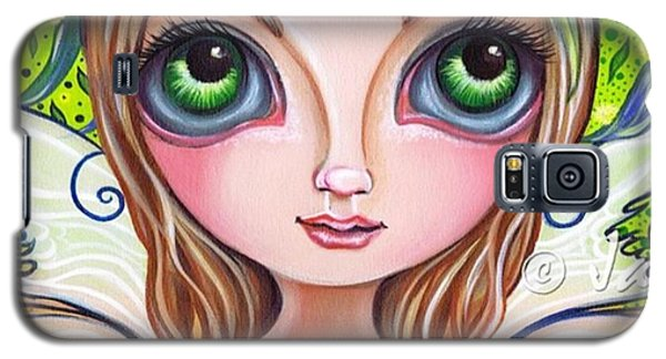 The Original wattle Fairy Painting Galaxy S5 Case by Jaz Higgins
