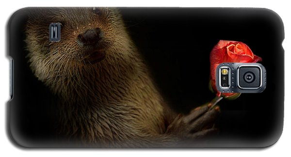 Galaxy S5 Case featuring the photograph The Otter by Christine Sponchia