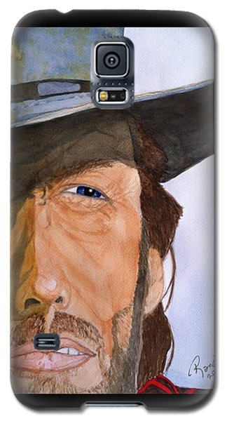 Galaxy S5 Case featuring the painting The Outlaw Josey Wales by Rand Swift