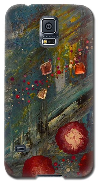 The Owl  The Fox And The Poppies Galaxy S5 Case