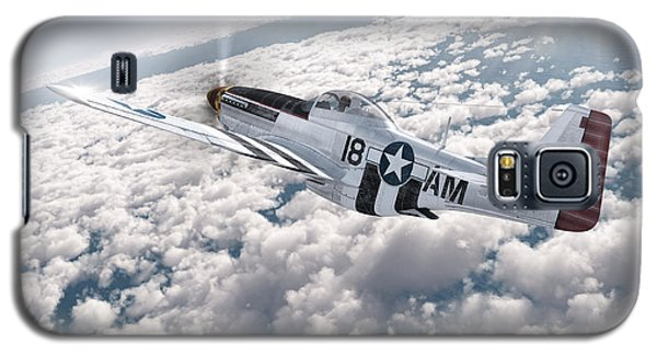 The P-51 Mustang Galaxy S5 Case by David Collins
