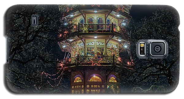 The Pagoda At Christmas Galaxy S5 Case