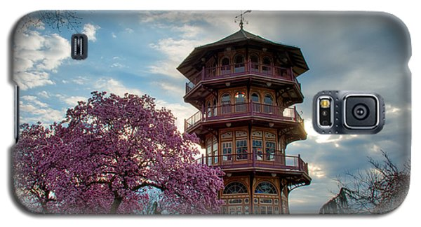 The Pagoda In Spring Galaxy S5 Case by Mark Dodd