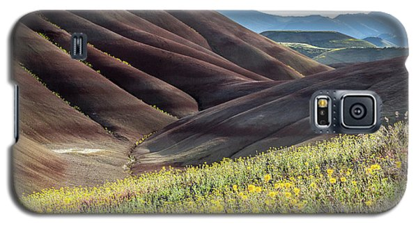 The Painted Hills In Bloom Galaxy S5 Case