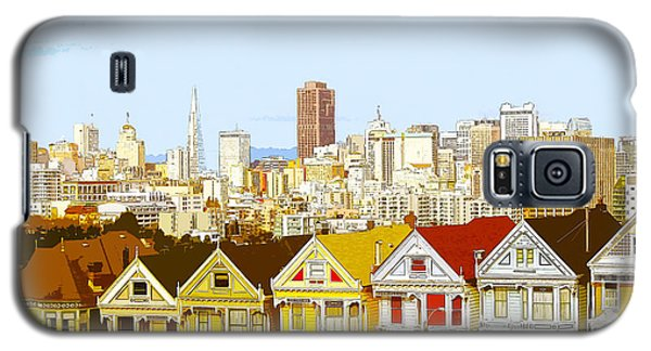 The Painted Ladies In San Francisco California Galaxy S5 Case