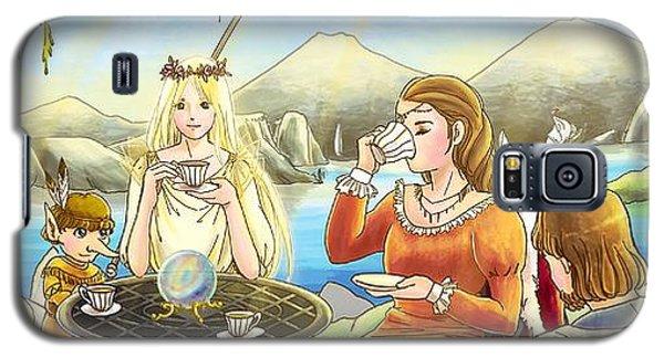 The Palace Garden Tea Party II Galaxy S5 Case