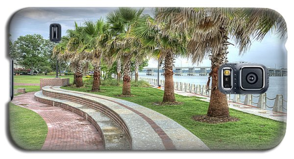 The Palms Of Water Front Park Galaxy S5 Case