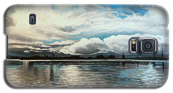 The Panoramic Painting Galaxy S5 Case by Elizabeth Robinette Tyndall