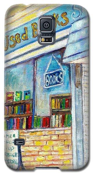 The Paperbacks Plus Book Store St Paul Minnesota Galaxy S5 Case