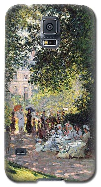 The Parc Monceau Galaxy S5 Case by Claude Monet
