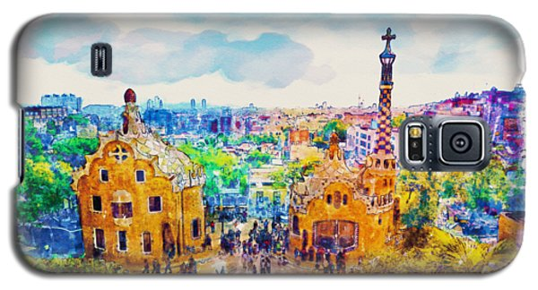 Park Guell Barcelona Galaxy S5 Case by Marian Voicu