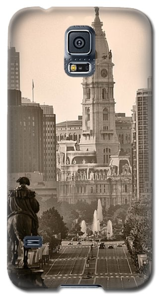 The Parkway In Sepia Galaxy S5 Case by Bill Cannon