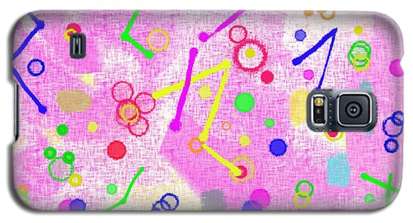 Galaxy S5 Case featuring the digital art The Party Is Here by Silvia Ganora
