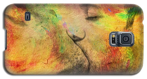 Nudes Galaxy S5 Case - The Passion Of A Kiss 1 by Mark Ashkenazi