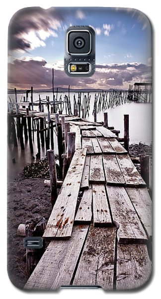 Galaxy S5 Case featuring the photograph The Path by Jorge Maia