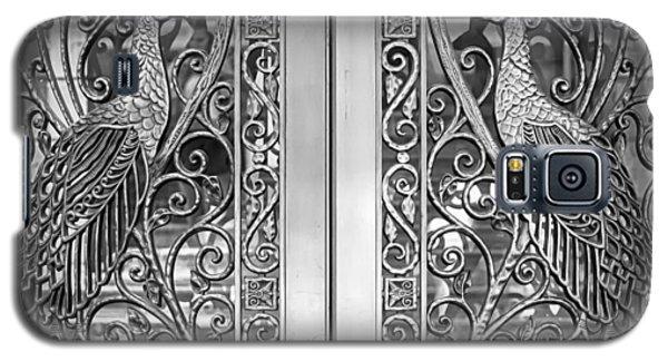 The Peacock Door Galaxy S5 Case