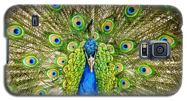 The Peacock Galaxy S5 Case by Janis Knight