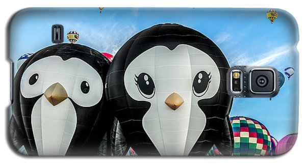 Puddles And Splash - The Penguin Hot Air Balloons Galaxy S5 Case