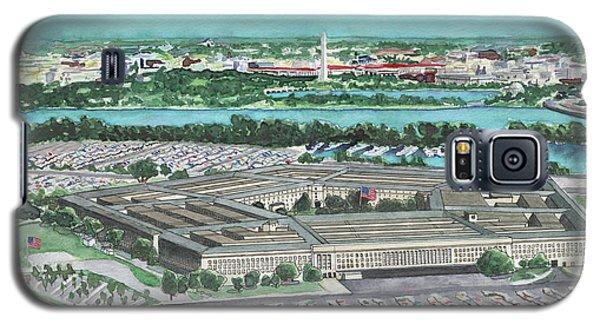 The Pentagon Galaxy S5 Case