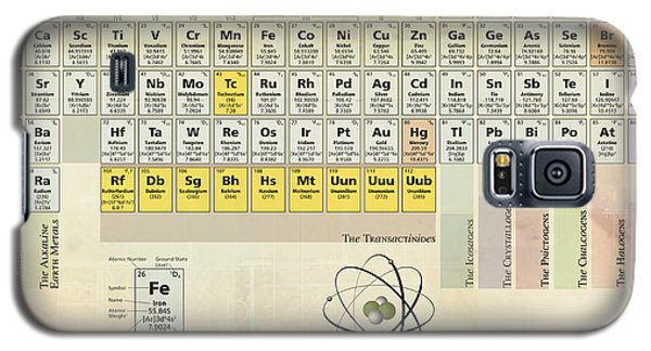 The Periodic Table Of The Elements Galaxy S5 Case by Gina Dsgn