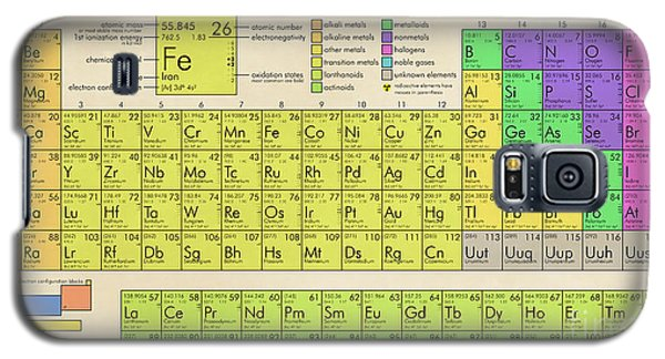 The Periodic Table Of The Elements Galaxy S5 Case