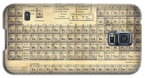The Periodic Table Galaxy S5 Case