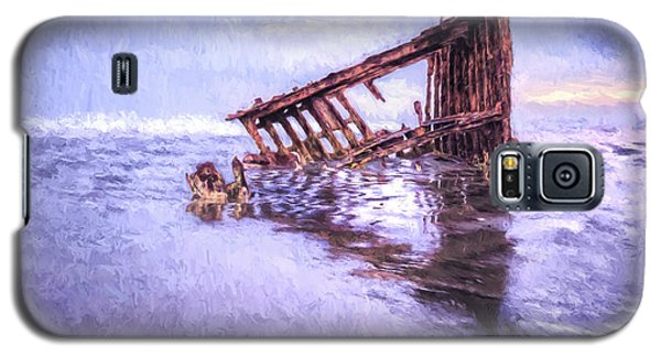 A Stormy Peter Iredale Galaxy S5 Case