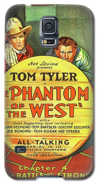 The Phantom Of The West 1931 Galaxy S5 Case by Mountain Dreams