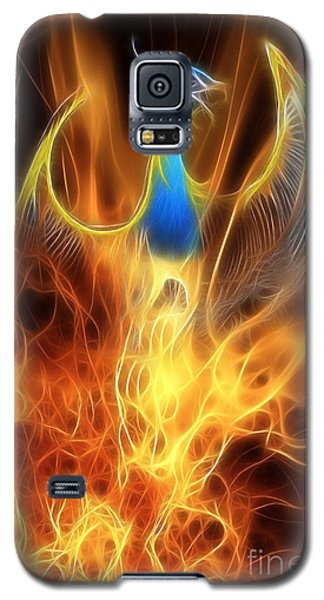 The Phoenix Rises From The Ashes Galaxy S5 Case by John Edwards