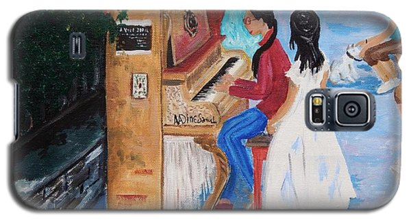 The Piano Player Galaxy S5 Case