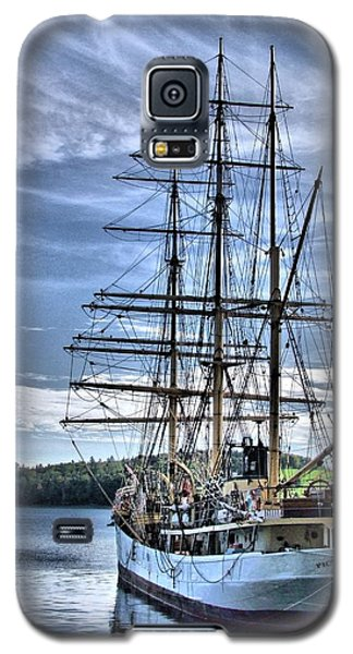 The Picton Castle Docked In Lunenburg Galaxy S5 Case