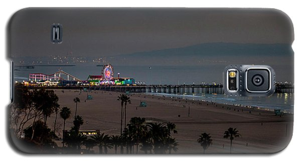 The Pier After Dark Galaxy S5 Case