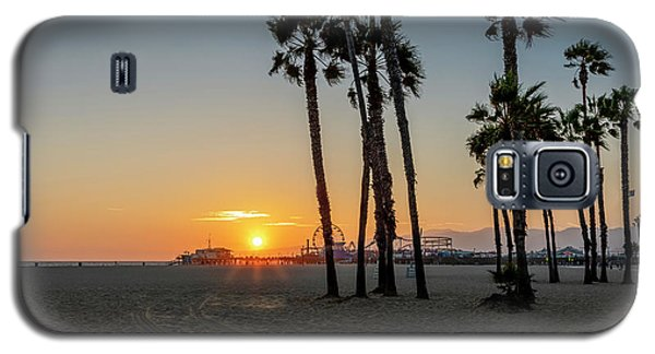 The Pier At Sunset Galaxy S5 Case