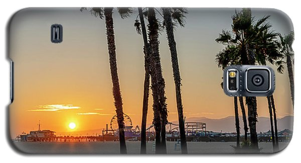 The Pier At Sunset - Square Galaxy S5 Case