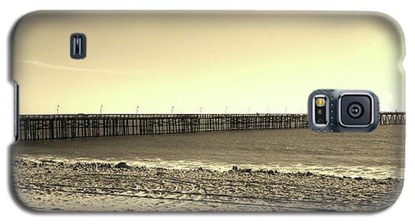 The Pier Galaxy S5 Case by Mary Ellen Frazee
