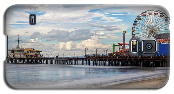 The Pier On A Cloudy Day Galaxy S5 Case