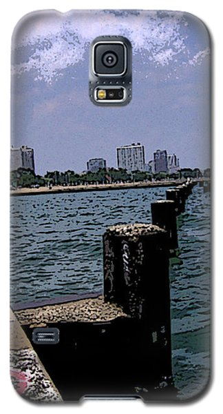Galaxy S5 Case featuring the photograph The Pier by Skyler Tipton