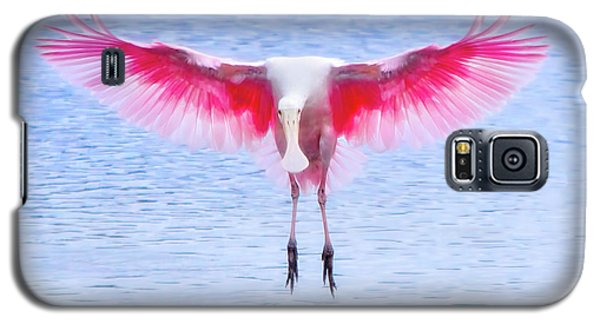 The Pink Angel Galaxy S5 Case by Mark Andrew Thomas