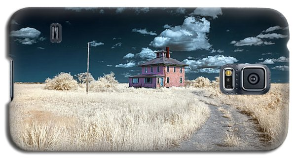 The Pink House In Halespectrum 1 Galaxy S5 Case
