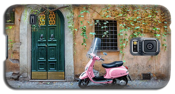 The Pink Vespa Galaxy S5 Case