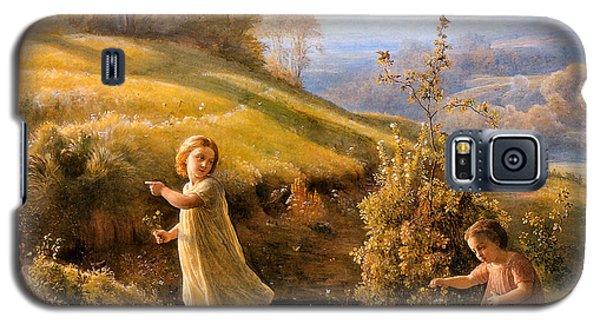 The Poem Of The Soul Spring Anne Francois Louis Janmot 1854. Galaxy S5 Case