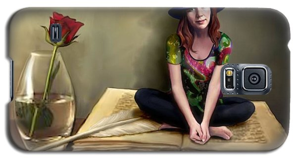 The Poetess Galaxy S5 Case by Jann Paxton