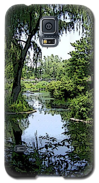 Galaxy S5 Case featuring the photograph The Pond by Skyler Tipton